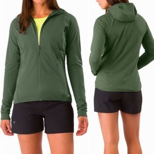 Arc'teryx Adahy Athletic Full Zip Hoodie: Halcyon